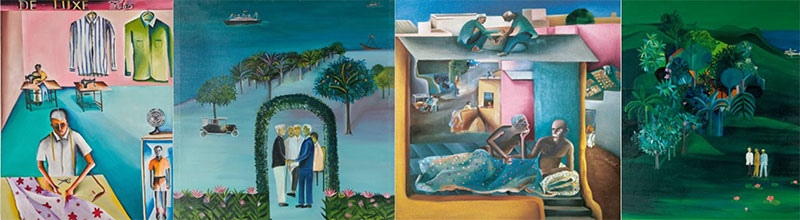 Bhupen Khakhar - Paintings